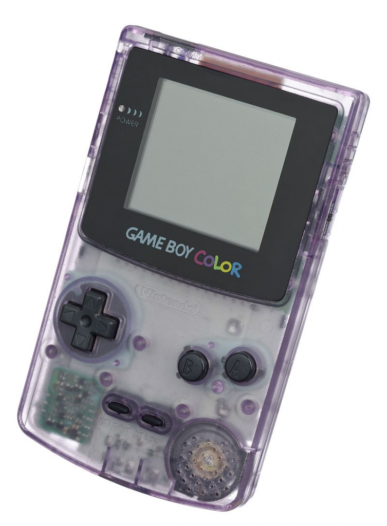 """Nintendo-Game-Boy-Color-FL"" by Evan-Amos - Own work. Licensed under Public Domain via Commons - http://commons.wikimedia.org/wiki/File:Nintendo-Game-Boy-Color-FL.jpg#/media/File:Nintendo-Game-Boy-Color-FL.jpg"