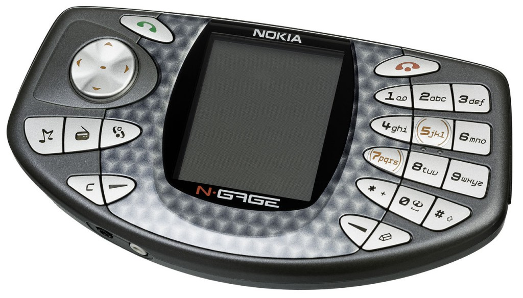 """Nokia-NGage-LL"" by Evan-Amos - Own work. Licensed under Public Domain via Commons - http://commons.wikimedia.org/wiki/File:Nokia-NGage-LL.jpg#/media/File:Nokia-NGage-LL.jpg"